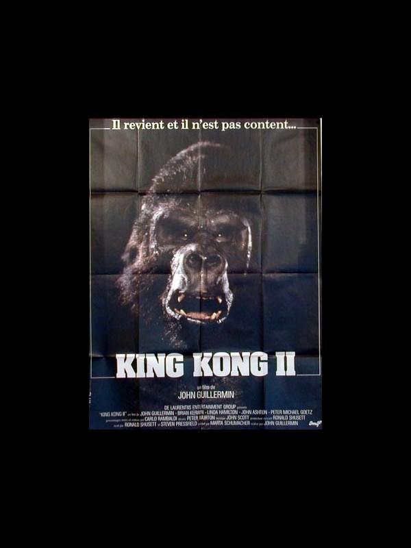 Affiche du film KING KONG 2 - KING KONG LIVES