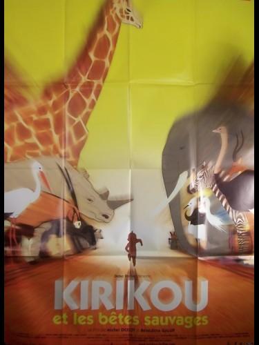 Affiche du film KIRIKOU ET LES BETES SAUVAGES