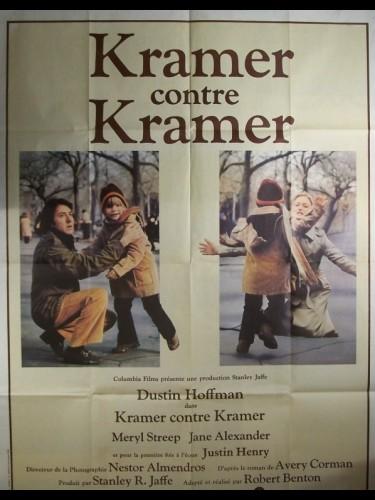 Affiche du film KRAMER CONTRE KRAMER - KRAMER VS. KRAMER
