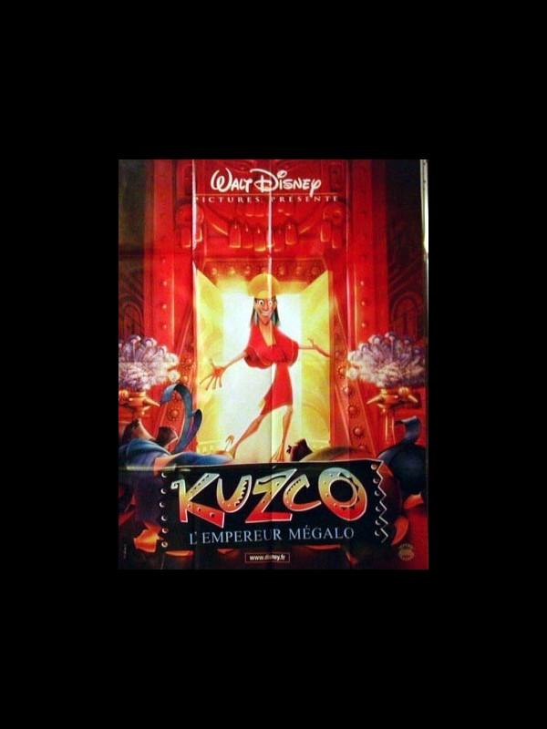Affiche du film KUZCO L'EMPEREUR MEGALO