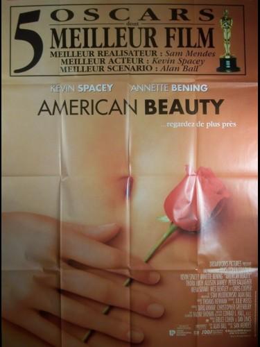 Affiche du film AMIRICAN BEAUTY-OSCARISÉ-