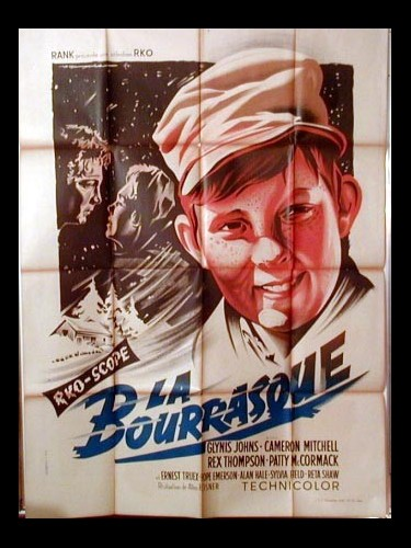 Affiche du film LA BOURRASQUE - ALL MINE TO GIVE