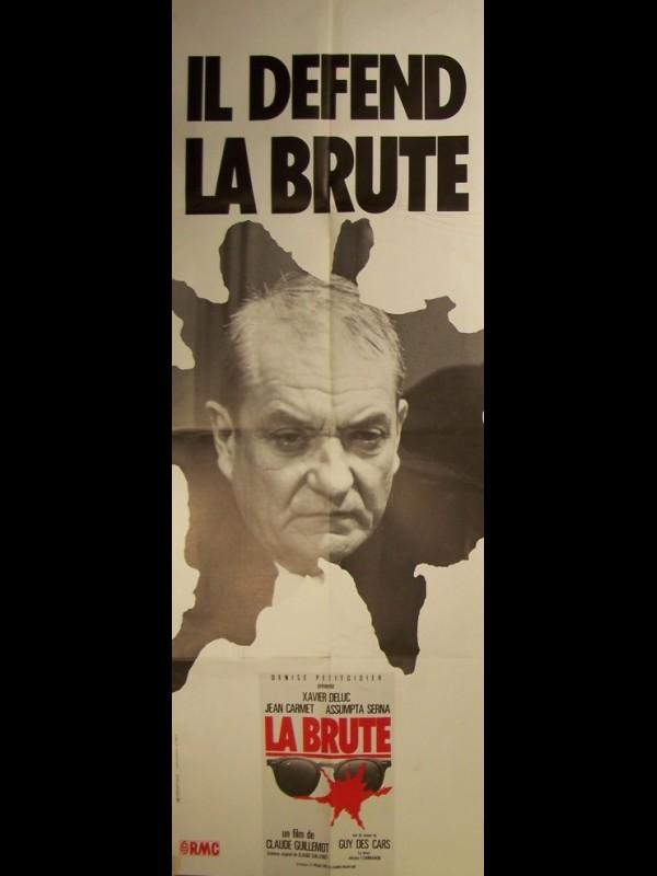 Affiche du film LA BRUTE-IL DEFEND
