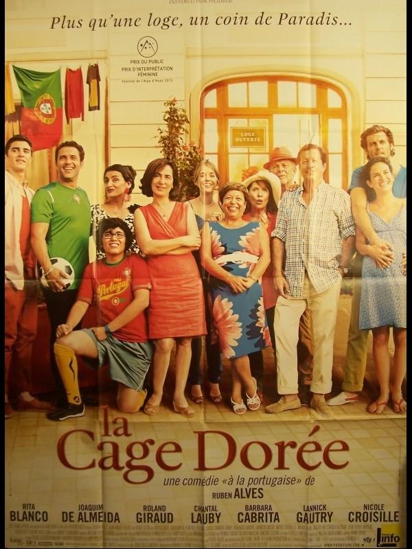 Affiche du film LA CAGE DOREE