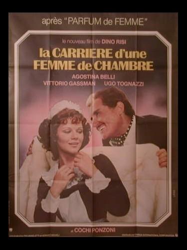 Affiche du film LA CARRIERE D'UNE FEMME DE CHAMBRE - TELEFONI BIANCHI