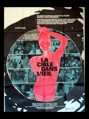 Affiche du film LA CIBLE DANS L'ŒIL