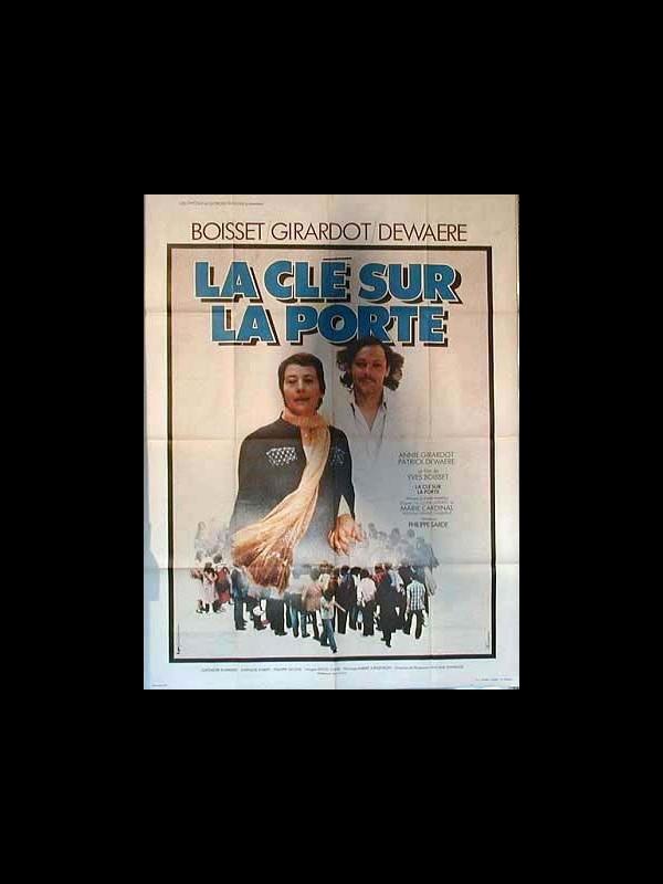 Affiche du film LA CLE SOUS LA PORTE