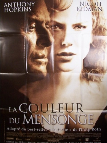 Affiche du film LA COULEUR DU MENSONGE - THE HUMAN STAIN