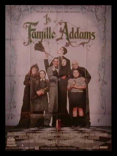 Affiche du film LA FAMILLE ADAMS - THE ADDAMS FAMILY