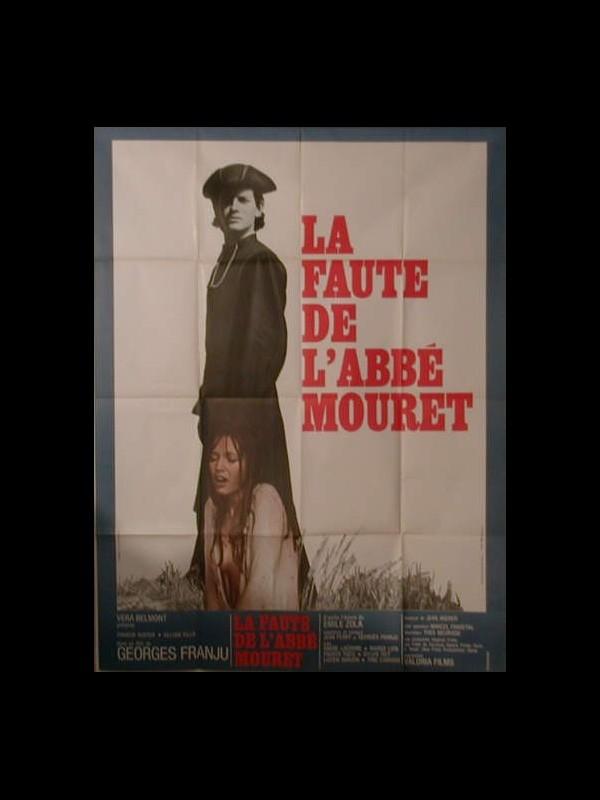 Affiche du film LA FAUTE DE L'ABBE MOURET