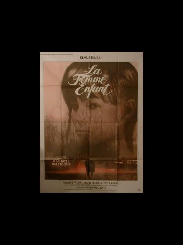 Affiche du film LA FEMME ENFANT