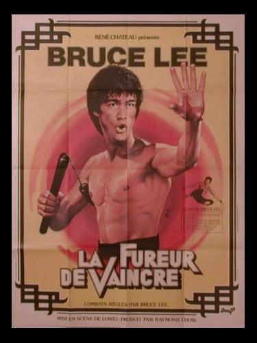 Affiche du film LA FUREUR DE VAINCRE