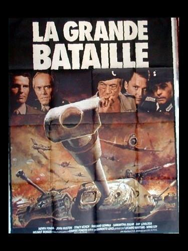 Affiche du film LA GRANDE BATAILLE - IL GRANDE ATTACCO