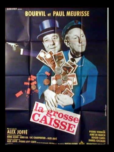 Affiche du film LA GROSSE CAISSE