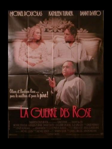 Affiche du film LA GUERRE DES ROSES