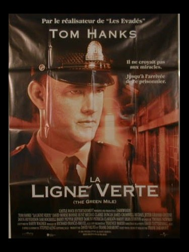 Affiche du film LA LIGNE VERTE - THE GREEN MILE