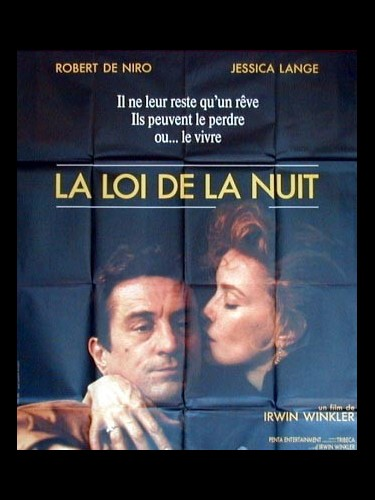 Affiche du film LA LOI DE LA NUIT - NIGHT AND THE CITY