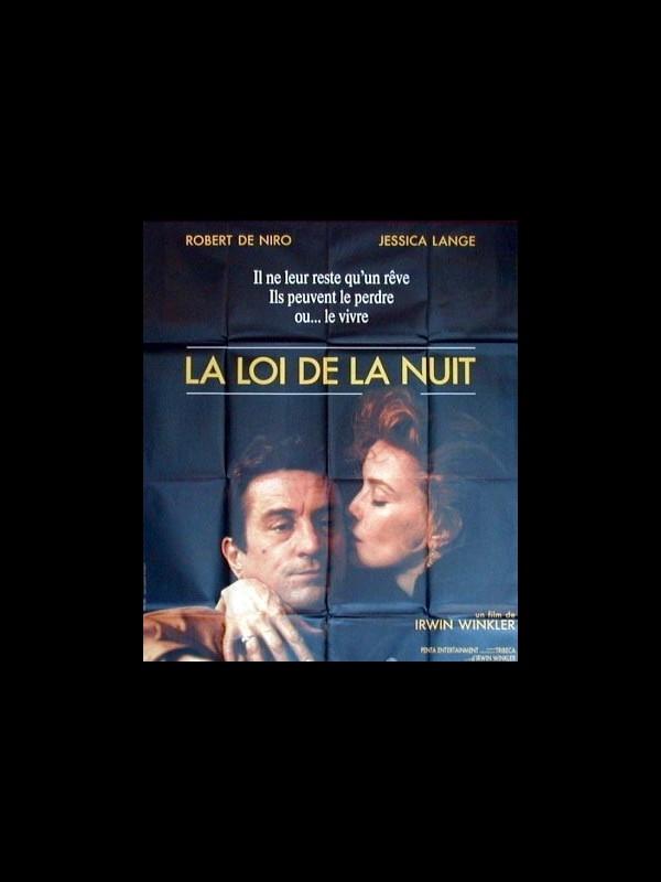 Affiche du film LA LOI DE LA NUIT - NIGHT AND THE CITY