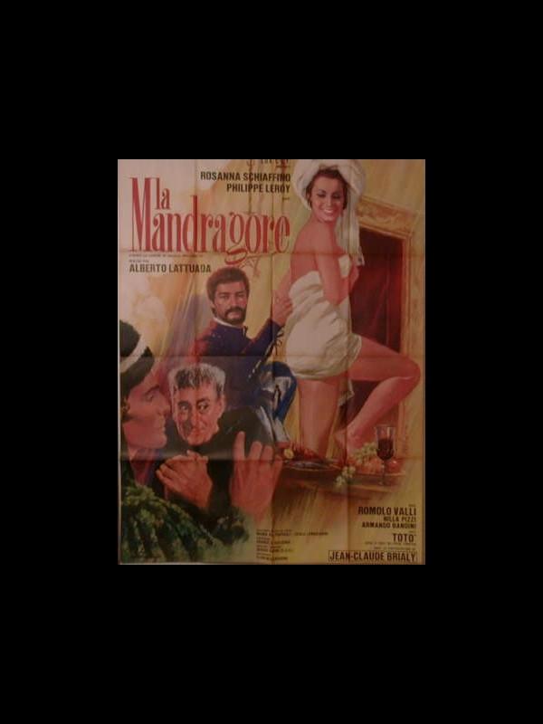 Affiche du film LA MANDRAGORE