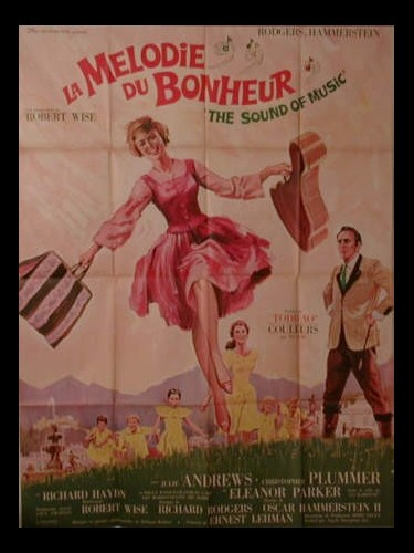 Affiche du film LA MELODIE DU BOHNEUR - THE SOUND OF MUSIC