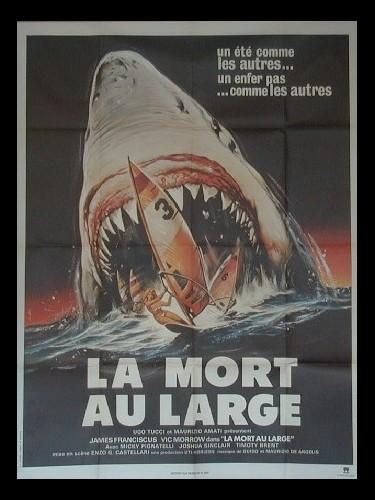 Affiche du film LA MORT AU LARGE