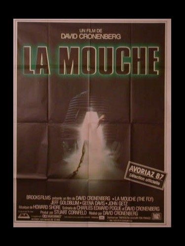 Affiche du film LA MOUCHE - THE FLY