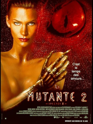 Affiche du film LA MUTANTE 2 - SPECIES II