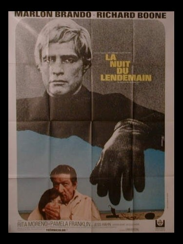 Affiche du film LA NUIT DU LENDEMAIN - THE NIGHT OF THE FOLLOWING DAY
