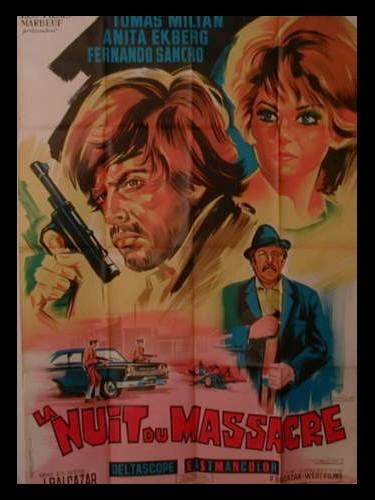 Affiche du film LA NUIT DU MASSACRE - CRÓNICA DE UN ATRACO