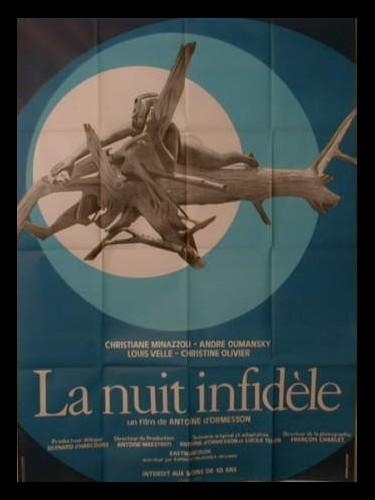 Affiche du film LA NUIT INFIDELE