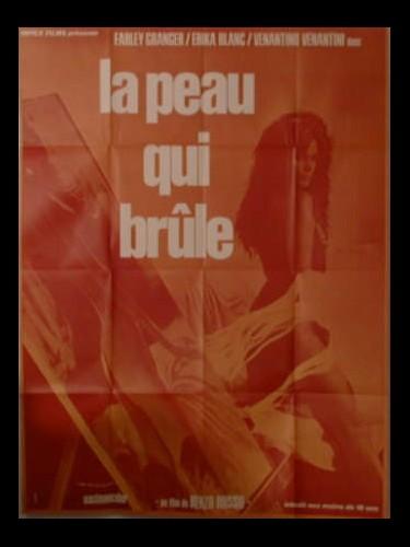 Affiche du film LA PEAU QUI BRULE