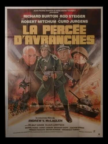 Affiche du film LA PERCEE D'AVRANCHES - STEINER, DAS EISERNE KREUZ