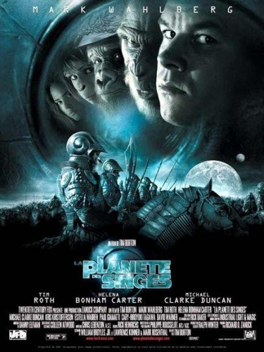 Affiche du film LA PLANETE DES SINGES - PLANET OF THE APES
