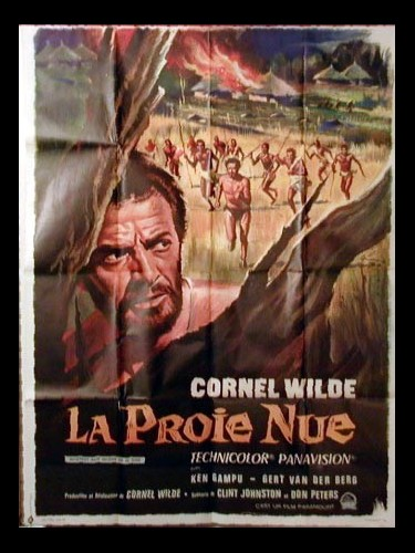Affiche du film LA PROIE NUE - THE NAKED PREY