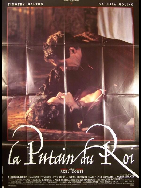 Affiche du film LA PUTAIN DU ROI