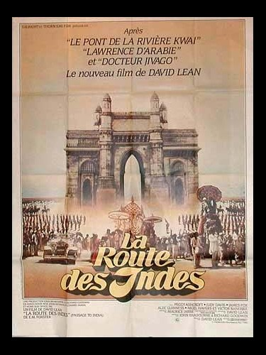 Affiche du film LA ROUTE DES INDES