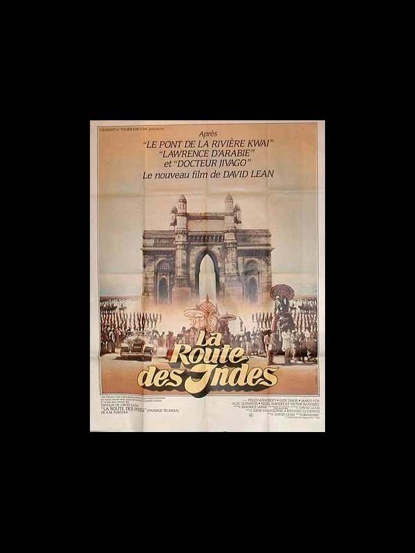 Affiche du film LA ROUTE DES INDES