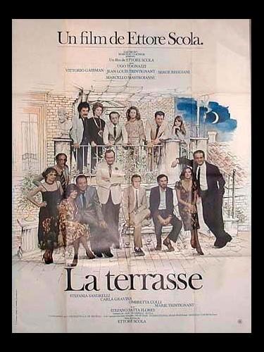 Affiche du film LA TERRASSE - LA TERRAZZA