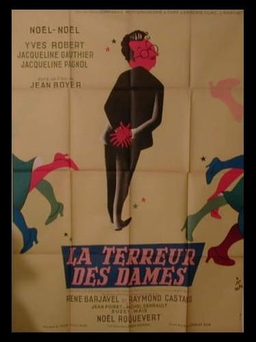 Affiche du film LA TERREUR DES DAMES