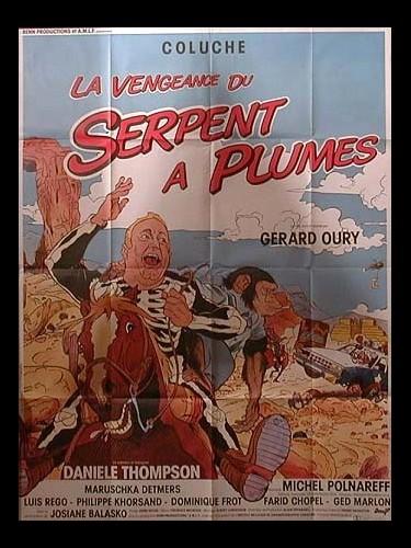 Affiche du film LA VENGEANCE DU SERPENT A PLUMES