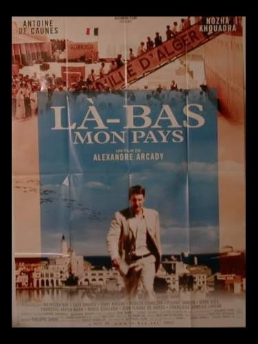 Affiche du film LA-BAS MON PAYS