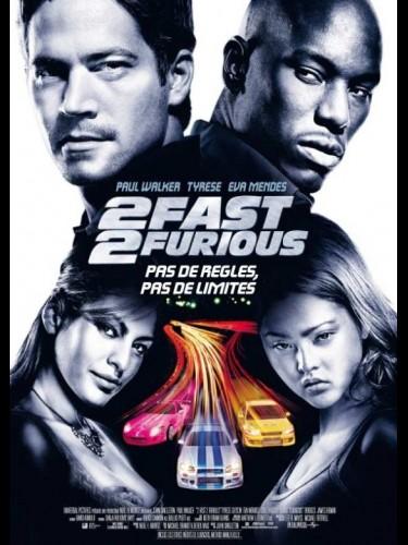 Affiche du film 2 FAST 2 FURIOUS (2) - 2 FAST 2 FURIOUS