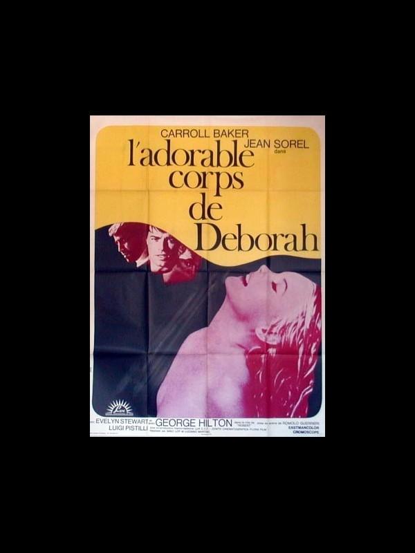 Affiche du film L'ADORABLE CORPS DE DEBORAH - IL DOLCE CORPO DI DEBORAH
