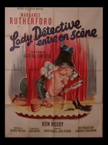 Affiche du film LADY DETECTIVE ENTRE EN SCENE - MURDER MOST FOUL