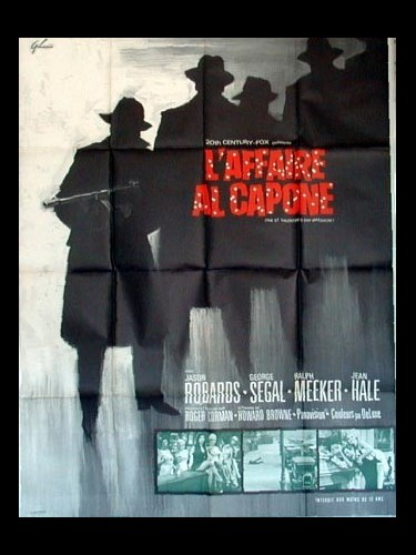 Affiche du film L'AFFAIRE AL CAPONE - THE ST. VALENTINE'S DAY MASSACRE