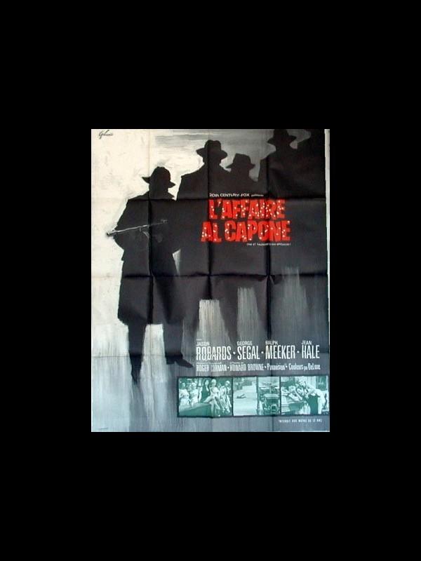 Affiche du film L'AFFAIRE AL CAPONE - THE ST. VALENTINE'S DAY MASSACRE