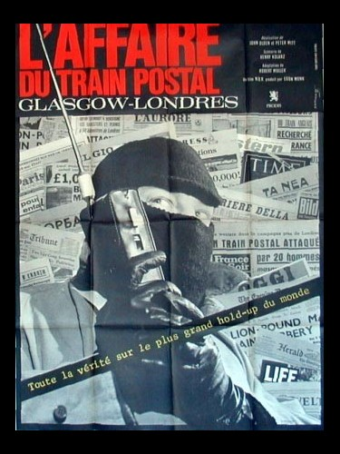 Affiche du film L'AFFAIRE DU TRAIN POSTAL GLASGOW-LONDRES - DIE GENTLEMEN BITTEN ZUR KASSE