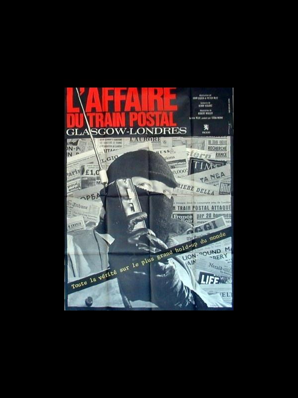 Affiche du film L'AFFAIRE DU TRAIN POSTAL GLASGOW-LONDRES - DIE GENTLEMEN BITTEN ZUR KASSE