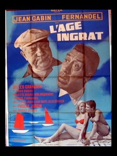 Affiche du film L'AGE INGRAT