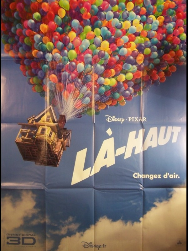 Affiche du film LA-HAUT - UP